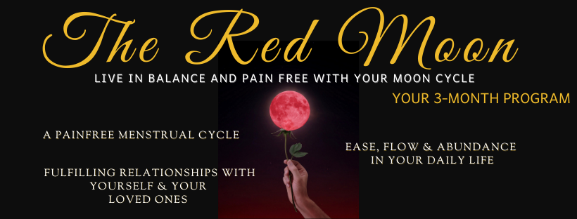 The Red Moon Program - The Beauty of Now - Website Cover