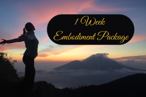 Embodiment Coaching - 1 Week - The Beauty of Now