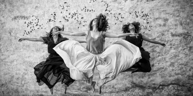 Women-Dancing-Let's Collaborate-The-Beauty-Of-Now
